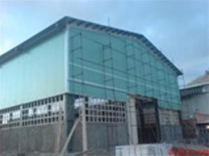 پوشش سقف-اجرای سقف-سقف شیبدار-پوشش سوله-آردواز-نما