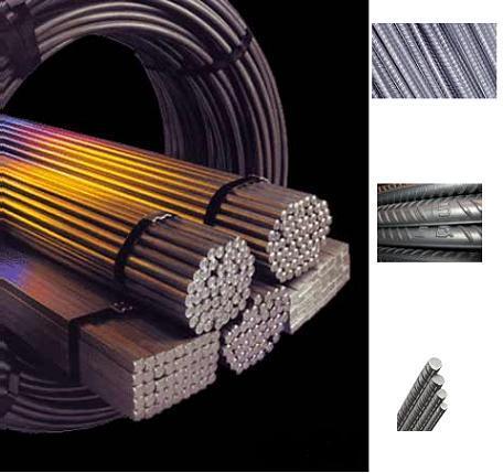 انواع آهن آلات صنعتی و ساختمانی میلگرد و تیرآهن ،